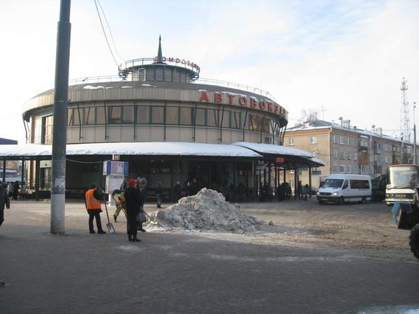 автовокзал в городе Домодедово