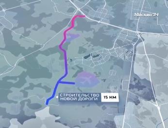 Дорога мкад остафьево схема